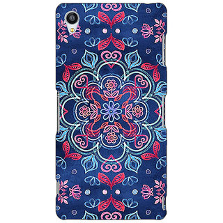 Jugaaduu Night Floral Pattern Back Cover Case For Sony Xperia Z4 - J580226