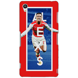 Jugaaduu Arsenal Alexis Sanchez Back Cover Case For Sony Xperia Z4 - J580506