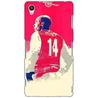 Jugaaduu Arsenal Therry Henry Back Cover Case For Sony Xperia Z4 - J580517