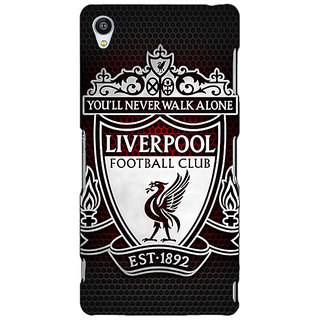 Jugaaduu Liverpool Back Cover Case For Sony Xperia Z4 - J580543