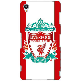 Jugaaduu Liverpool Back Cover Case For Sony Xperia Z4 - J580544