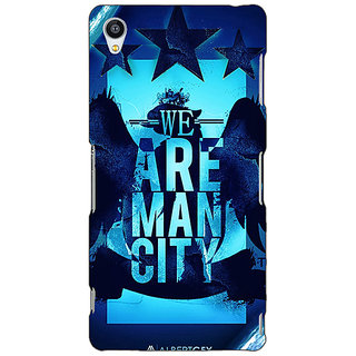 Jugaaduu Manchester City Back Cover Case For Sony Xperia Z4 - J580578