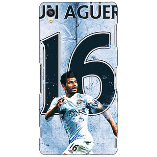 Jugaaduu Manchester City Aguero Back Cover Case For Sony Xperia Z4 - J580580