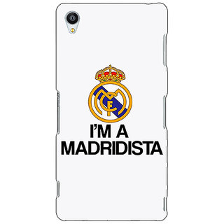 Jugaaduu Real Madrid Back Cover Case For Sony Xperia Z4 - J580599