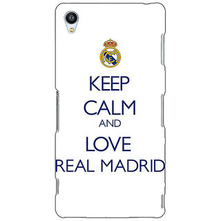 Jugaaduu Real Madrid Back Cover Case For Sony Xperia Z4 - J580600