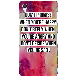 Jugaaduu Wise Quote Back Cover Case For Sony Xperia Z4 - J581144
