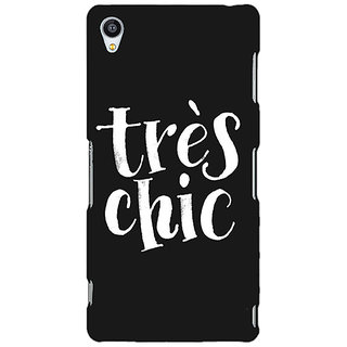 Jugaaduu Quote Back Cover Case For Sony Xperia Z4 - J581469