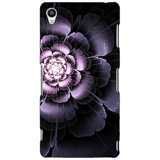 Jugaaduu Abstract Flower Pattern Back Cover Case For Sony Xperia Z4 - J581518