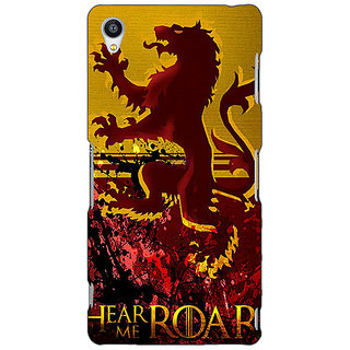Jugaaduu Game Of Thrones GOT House Lannister Back Cover Case For Sony Xperia Z4 - J581540