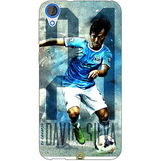 Jugaaduu Manchester City Back Cover Case For HTC Desire 826 - J590579