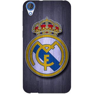 Jugaaduu Real Madrid Back Cover Case For HTC Desire 826 - J590589