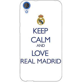 Jugaaduu Real Madrid Back Cover Case For HTC Desire 826 - J590600