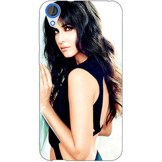 Jugaaduu Bollywood Superstar Katrina Kaif Back Cover Case For HTC Desire 826 - J590989