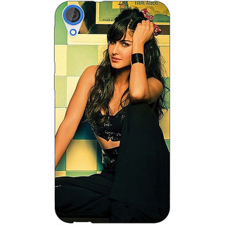 Jugaaduu Bollywood Superstar Katrina Kaif Back Cover Case For HTC Desire 826 - J591009