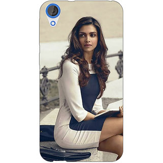Jugaaduu Bollywood Superstar Deepika Padukone Back Cover Case For HTC Desire 826 - J591019