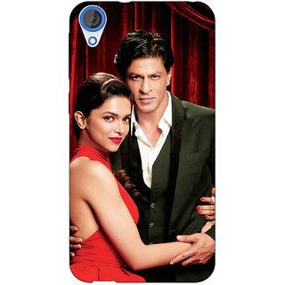 Jugaaduu Bollywood Superstar Deepika Padukone Shahrukh Khan Back Cover Case For HTC Desire 826 - J591024
