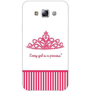 Jugaaduu Princess Back Cover Case For Samsung Galaxy A3 - J571421