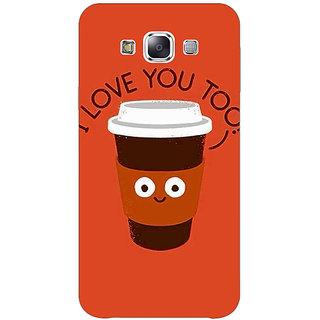 Jugaaduu Coffee Love Back Cover Case For Samsung Galaxy A3 - J571433