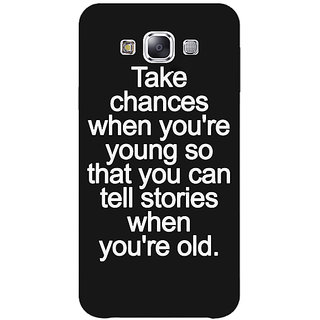 Jugaaduu Quote Back Cover Case For Samsung Galaxy A3 - J571476