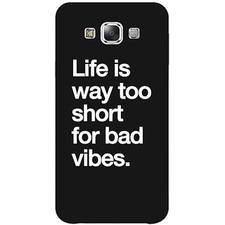 Jugaaduu Quote Back Cover Case For Samsung Galaxy A3 - J571477