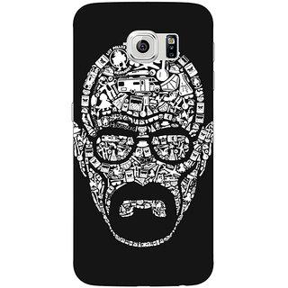 Jugaaduu Breaking Bad Heisenberg Back Cover Case For Samsung S6 Edge - J600407