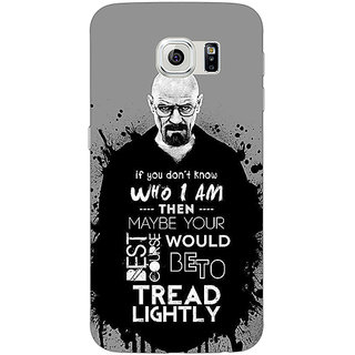 Jugaaduu Breaking Bad Heisenberg Back Cover Case For Samsung S6 Edge - J600427