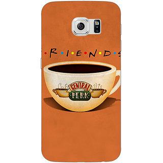 Jugaaduu FRIENDS Back Cover Case For Samsung S6 Edge - J600444