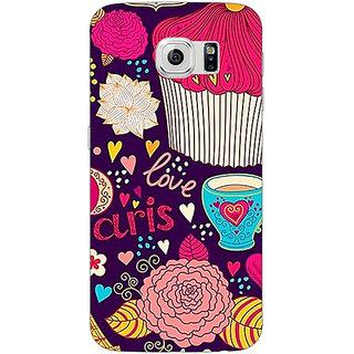 Jugaaduu Paris Love  Back Cover Case For Samsung S6 Edge - J600795