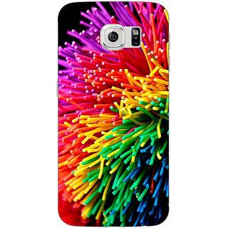 Jugaaduu Colour Bomb Back Cover Case For Samsung S6 Edge - J600801