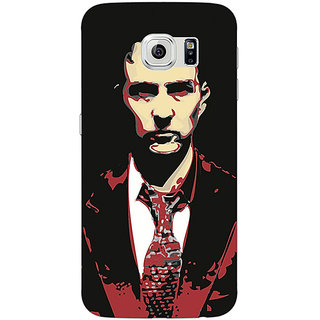 Jugaaduu Fight Club Back Cover Case For Samsung S6 Edge - J600808