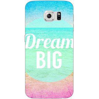 Jugaaduu Dream Quote Back Cover Case For Samsung S6 Edge - J600820