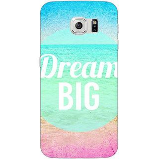 Jugaaduu Dream Quote Back Cover Case For Samsung S6 Edge - J600820
