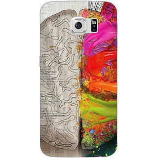 Jugaaduu Think Different Back Cover Case For Samsung S6 Edge - J600832