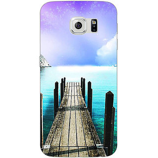 Jugaaduu Pathway to Heaven Back Cover Case For Samsung S6 Edge - J600836