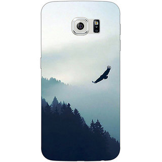 Jugaaduu Mountains Valleys Back Cover Case For Samsung S6 Edge - J601137