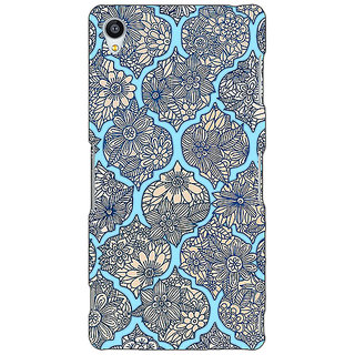 Jugaaduu Sky Morroccan Pattern Back Cover Case For Sony Xperia Z4 - J580244
