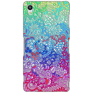 Jugaaduu Flower Gardens Pattern Back Cover Case For Sony Xperia Z4 - J580249