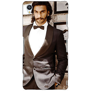 Jugaaduu Bollywood Superstar Ranveer Singh Back Cover Case For Sony Xperia M4 - J610909