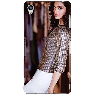 Jugaaduu Bollywood Superstar Deepika Padukone Back Cover Case For Sony Xperia M4 - J611053
