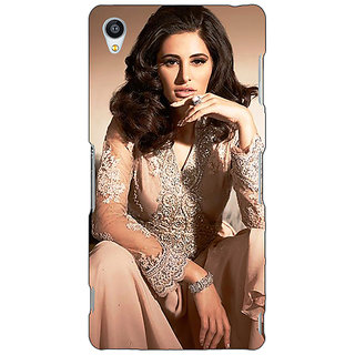 Jugaaduu Bollywood Superstar Nargis Fakhri Back Cover Case For Sony Xperia M4 - J611075
