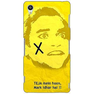 Jugaaduu Bollywood Superstar Andaz Apna Apna Teja Back Cover Case For Sony Xperia M4 - J611078