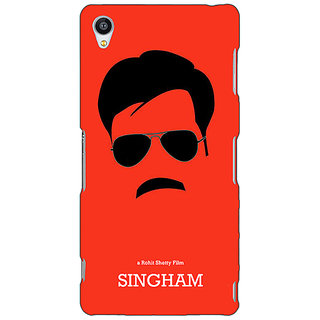 Jugaaduu Bollywood Superstar Singham Back Cover Case For Sony Xperia M4 - J611079