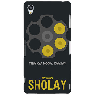Jugaaduu Bollywood Superstar Sholay Back Cover Case For Sony Xperia M4 - J611085