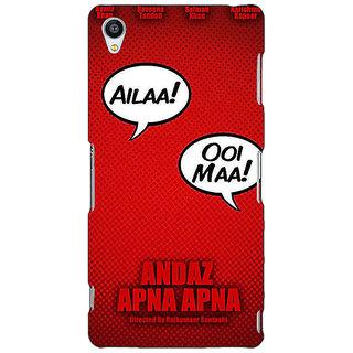 Jugaaduu Bollywood Superstar Andaz Apna Apna Back Cover Case For Sony Xperia M4 - J611086