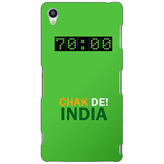 Jugaaduu Bollywood Superstar Chak De India Back Cover Case For Sony Xperia M4 - J611106