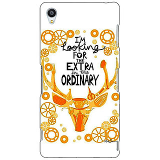 Jugaaduu Quotes Back Cover Case For Sony Xperia Z4 - J581162