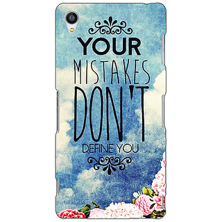 Jugaaduu Quotes Mistakes Back Cover Case For Sony Xperia Z4 - J581165