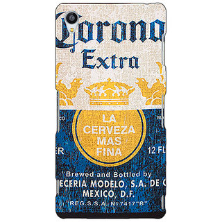 Jugaaduu Corona Beer Back Cover Case For Sony Xperia Z4 - J581245
