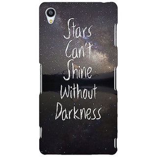 Jugaaduu Quote Back Cover Case For Sony Xperia M4 - J611478