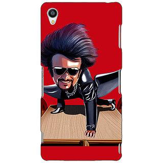 Jugaaduu Rajni Rajanikant Back Cover Case For Sony Xperia M4 - J611487